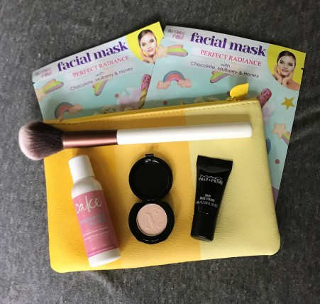 products and bag