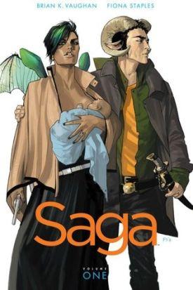 Saga vol. 1 by Brian Vaughn - A Midwest Belle