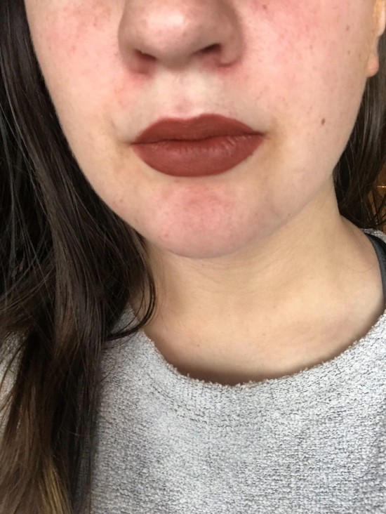 Ofra American Lip Swatch - A Midwest Belle