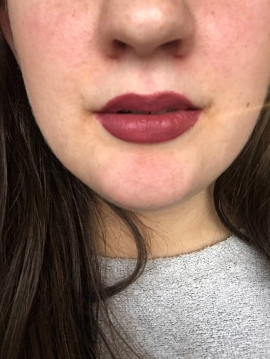 Ofra Tuscany Lip Swatch - A Midwest Belle