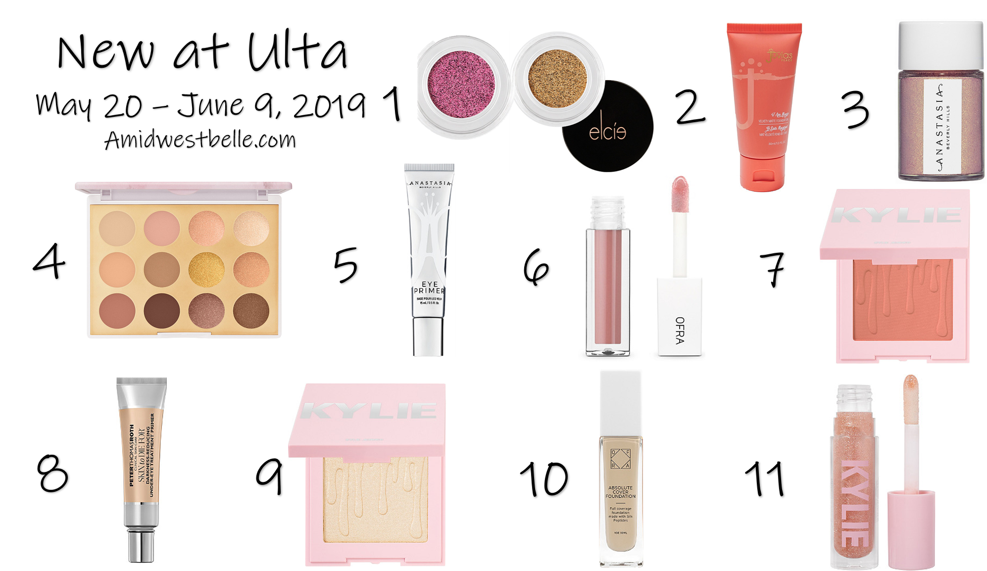 New At Ulta | May 20 - June 9, 2019 - A Midwest Belle