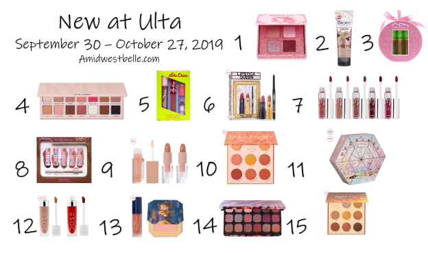 New at Ulta | September 30 - October 27, 2019 - A Midwest Belle