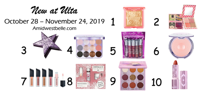 New at Ulta | October 28 - November 24, 2019 - A Midwest Belle