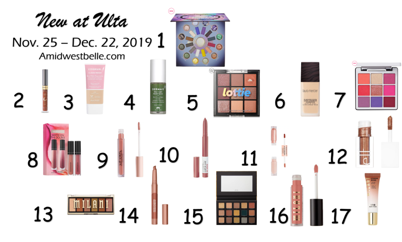 New At Ulta | November 25 - December 22, 2019 - A Midwest Belle