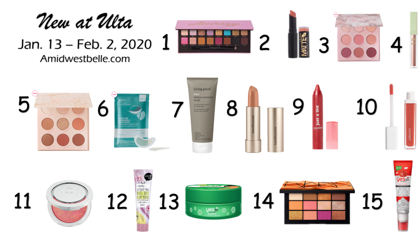 New at Ulta | January 13 - February 2, 2020 - A Midwest Belle